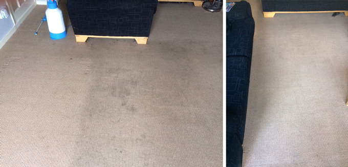Rutland Cleaning Before and After Carpet Cleaning