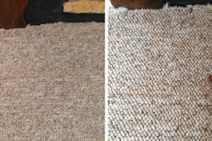 Before & After Spot Cleaning