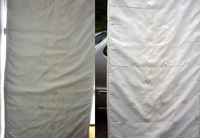 Rutland Cleaning Before and After Mattress