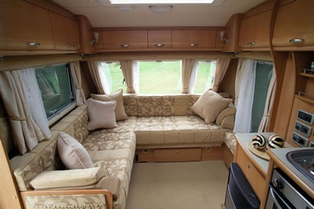 Caravan Cleaning Interior Cleaning