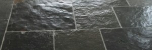 clean slate floor