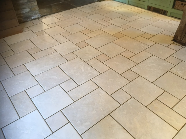 clean floors following tile and grout cleaning