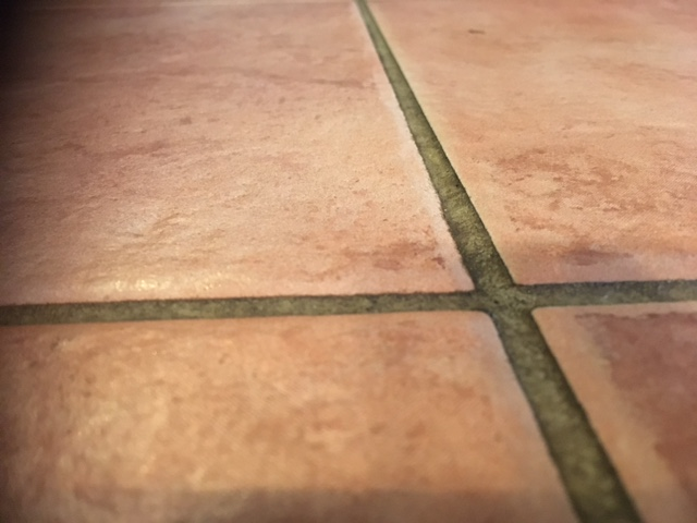 grout cleaning - dirty grout