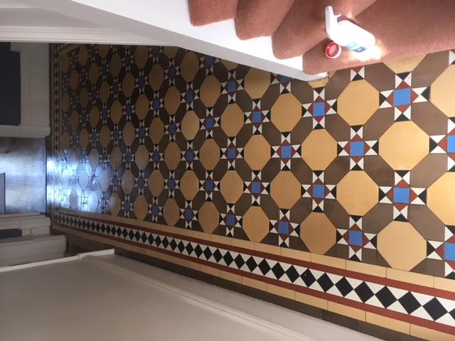 a fully restored  victorian floor