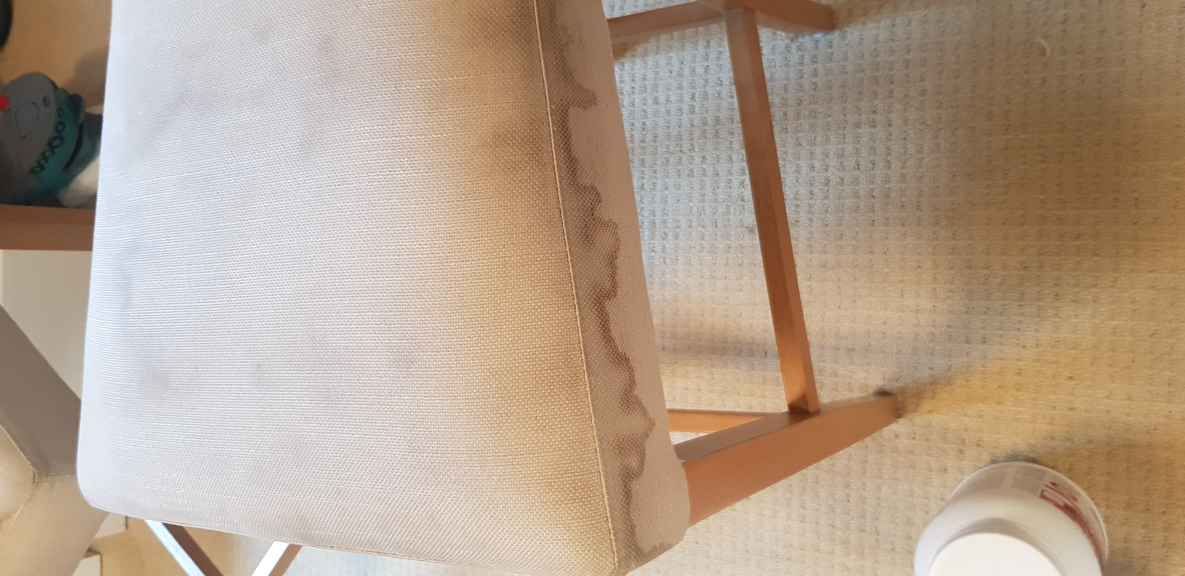 dirty diy upholstery cleaning