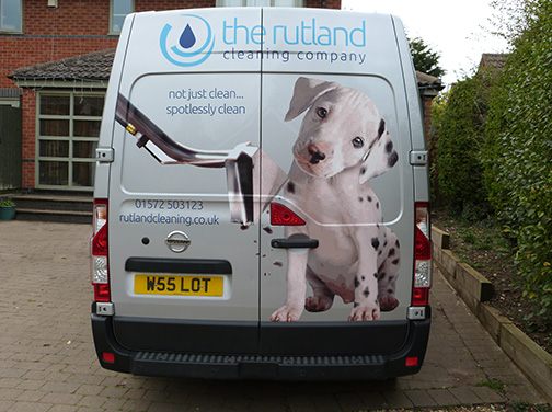 The Rutland Cleaning Company - Van