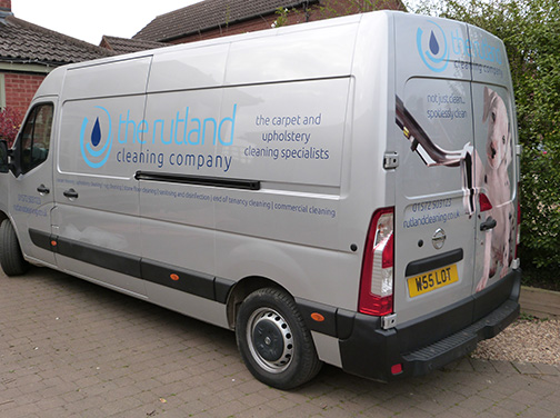 The Rutland Cleaning Company - Van 3