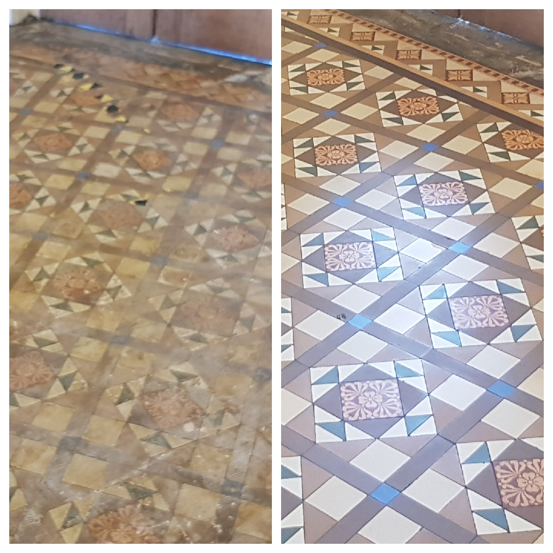 Victorian floor restoration